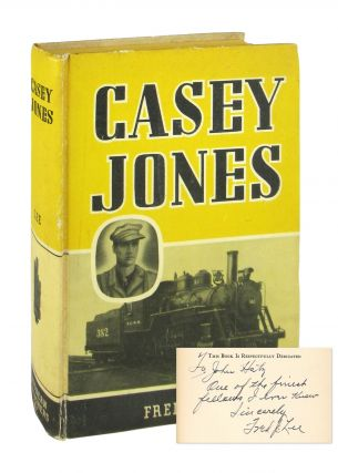 Casey Jones [Inscribed and Signed]. Fred J. Lee