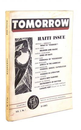 Haiti Issue [of] Tomorrow: the Quarterly Review of Psychical Research, Autumn 1954, Vol. 3, No....