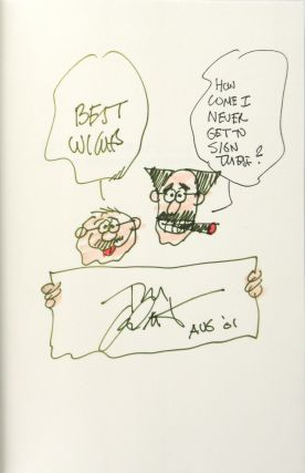 Groucho Marx and the Broadway Murders [Signed]