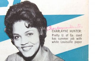 Jet: June 22, 1961 Issue, Vol XX, No. 9: Charlayne Hunter-Gault Cover Feature [signed]