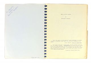 Walk a Little Faster: Escape from Burma with General Stilwell in 1942 [signed photostat of typescript]