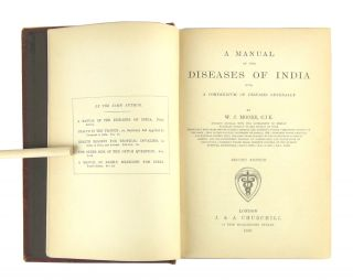 A Manual of the Diseases of India with a Compendium of Diseases Generally