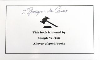 The Ape-Man Within [Signed Bookplate Laid in]