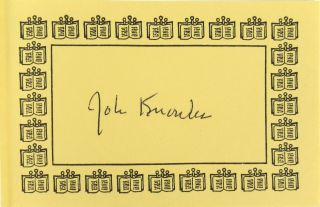 Double Vision: American Thoughts Abroad [Signed Bookplate Laid in]